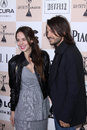 Camila sodi diego luna and at the film independent spirit awards santa monica beach santa monica ca Stock Photography