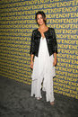 Camilla alves at the fendi redesigned rodeo flagship store launch and ten baguettes for ten years exhibition benefitting lacma Royalty Free Stock Images