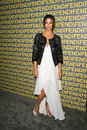 Camilla alves at the fendi redesigned rodeo flagship store launch and ten baguettes for ten years exhibition benefitting lacma Royalty Free Stock Photography