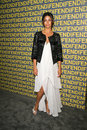 Camilla alves at the fendi redesigned rodeo flagship store launch and ten baguettes for ten years exhibition benefitting lacma Stock Photography