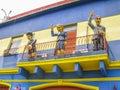 Caminito Street in La Boca Royalty Free Stock Photo