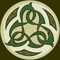 Camo Tribal Celtic Knotwork Icon Stock Images