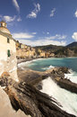 Camogli aerial view Royalty Free Stock Photo