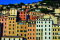 Camogli, Genoa, Italy Stock Photo
