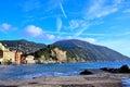 Camogli genoa italy panorama in Stock Image