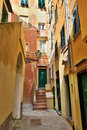 Camogli italy old town in famous village in liguria Royalty Free Stock Photography