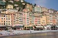 Camogli, Liguria, Italy Stock Photos