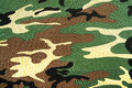 Camouflage fabric military background with Royalty Free Stock Image