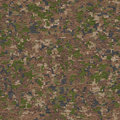 Camouflage in green and beige seamless texture traditional swampy tileable Stock Photo