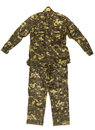 Camouflage jacket and pants Royalty Free Stock Photo