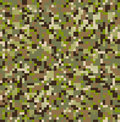 Camouflage pattern seamless digital multi terrain Stock Photography
