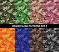 Camouflage Patterns Set 1 - Si...