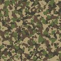 Camouflage seamless pattern. Vector background.