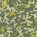 Camouflage seamless pattern print abstract fabric eps vector illustration Royalty Free Stock Photo