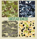 Camouflage seamless pattern vector eps Royalty Free Stock Photography