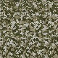 Camouflage Style Knitted Pattern in Light Green Colors