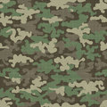 Camouflage texture seamless pattern