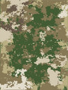 Camouflage vector texture Stock Photography