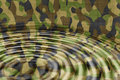 Camouflage water ripples Royalty Free Stock Image