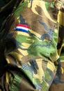 Camouflaged clothing Royalty Free Stock Photo