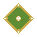 Camp diamond baseball sport Royalty Free Stock Photo