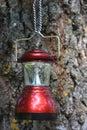 Camp lantern Royalty Free Stock Photo