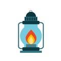 camp lantern design Royalty Free Stock Photo