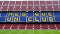Camp Nou stadium ,Barcelona, Spain Stock Images