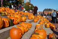 Camp Sunshine Pumpkin Festival in Boston Stock Photography