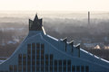 Campaign riga latvia january light path chain of book friends view from st peters church on the national library Stock Photography