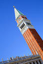 Campanile di san marco the tower in venice italy europe Stock Photos