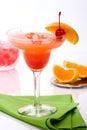 Campari cocktail Royalty Free Stock Photo