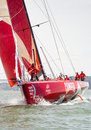 Camper Team in Volvo Ocean Race Stock Photography