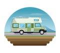 Campervan vehicle and transportation design