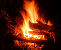 Campfire Royalty Free Stock Photo