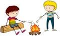 Campfire Royalty Free Stock Photo