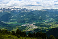 Campiler mountain south tyrol landscape on mount Royalty Free Stock Images