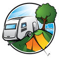 Camping Area Royalty Free Stock Photography