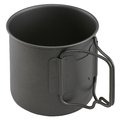 Camping cup Royalty Free Stock Photo
