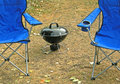 Camping great adventure Royalty Free Stock Photos