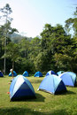 Camping ground. Stock Image