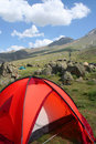 Camping at Hasan mountain Stock Image