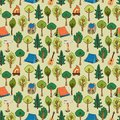 Camping And Hiking Background ...