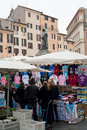 Campo de Fiori Stock Photo