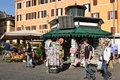 Campo de Fiori Royalty Free Stock Photo