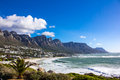 Camps Bay Beach, Cape Town Royalty Free Stock Photo