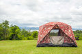 Campsite tent Royalty Free Stock Photos