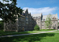 Campus of Princeton University in New Jersey Stock Photos