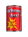 Can of Whoop Ass Stock Photo
