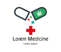 Canabis Medicine Logo Design